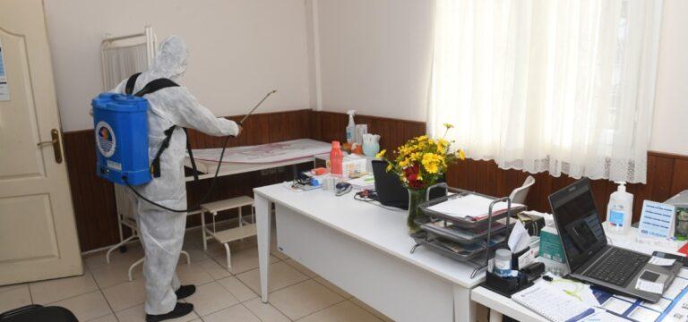 Yenişehir Belediyesi virüsle mücadeleye devam ediyor