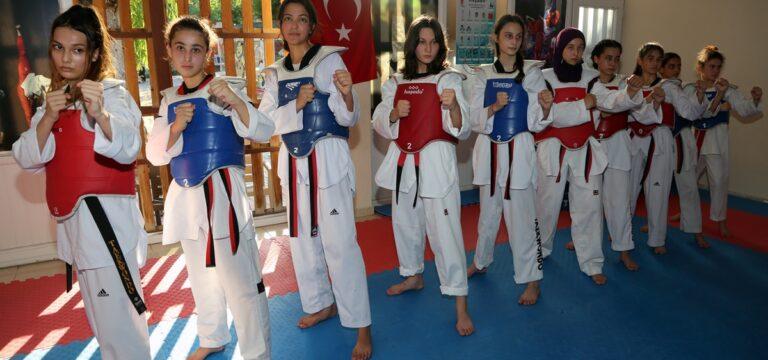 Erdemlili sporcular, Türkiye şampiyonu oldu
