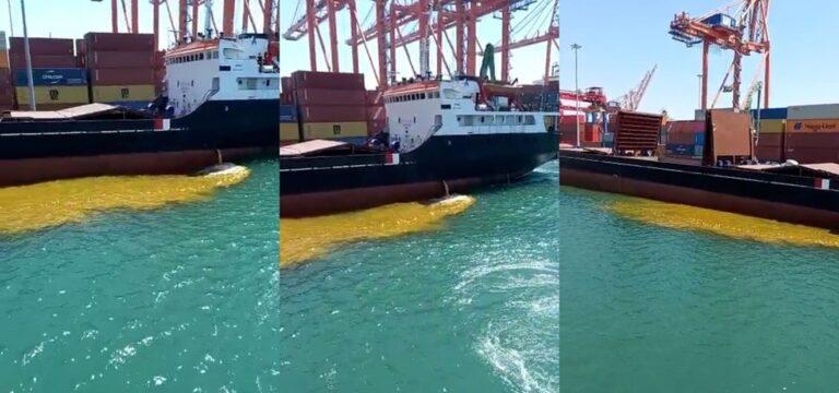 Denizi kirleten gemiye ağır ceza