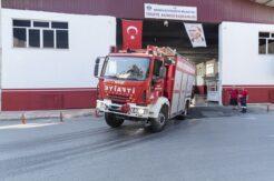 Mersin İtfaiyesinden Muğla ve Antalya'ya destek