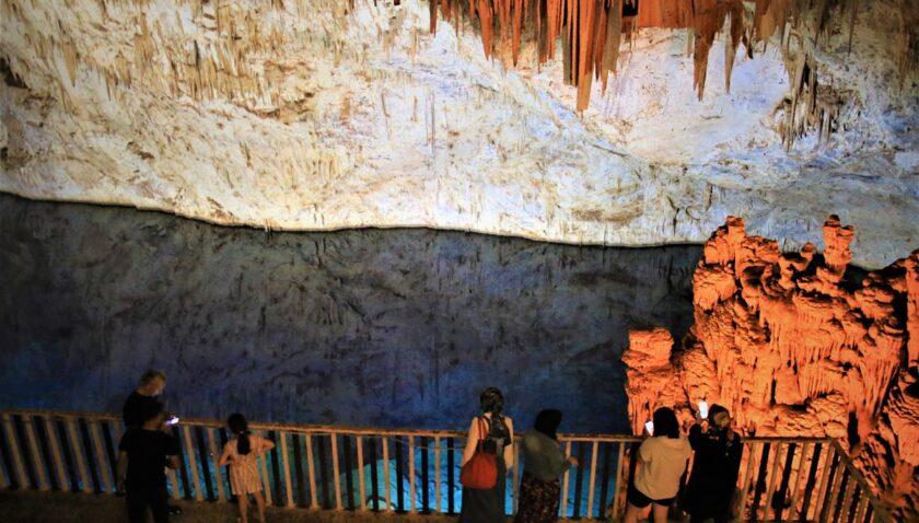 Gilindire Mağarası'na ziyaretçi akını