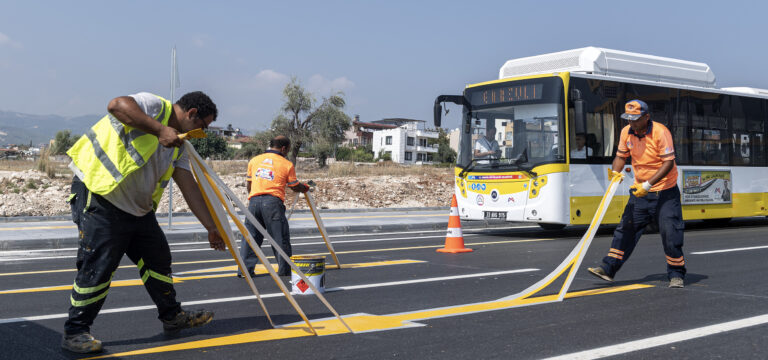 Büyükşehir, 4. Çevre Yolunu güvenli hale getiriyor