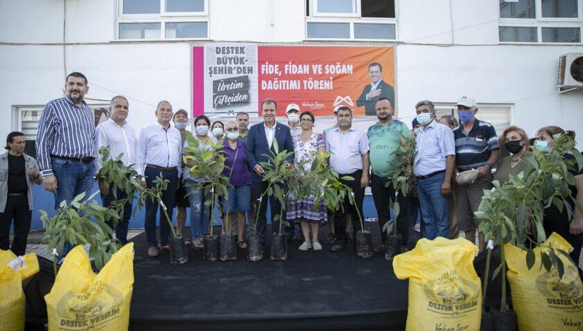 Büyükşehir'den Anamur'da tarımsal hizmet atağı