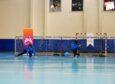 'Engelliler Günü' için GoalBall maçı yaptılar