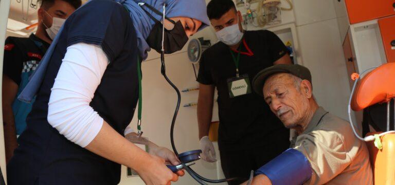 Toroslar'da Dünya Kalp Günü'nde sağlık taraması