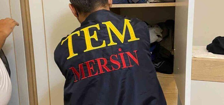 Mersin'de FETÖ operasyonu: 8 gözaltı