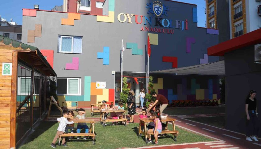 Mezitli'nin ilk oyun merkezi Oyun Koleji'nde açılıyor