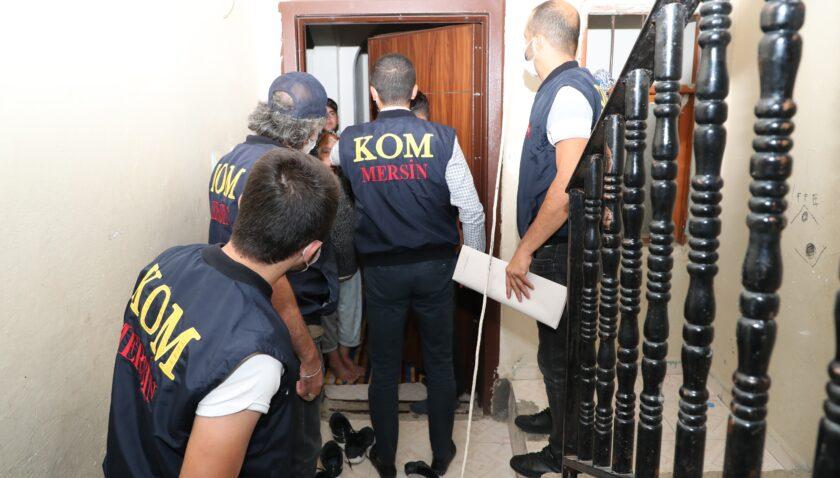 Sahil Rüzgarı-2 operasyonunda Mersin'de 7 kişi gözaltına alındı