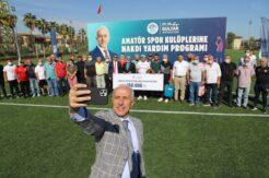 Akdeniz Belediyesi, amatör spora can suyu oldu