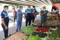 Akdeniz zabıtası fiyat-etiket denetimi yaptı